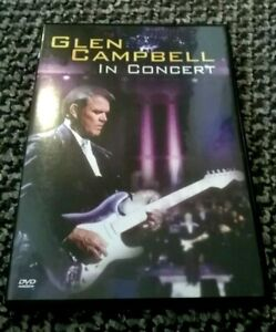 GLEN CAMPBELL - IN CONCERT - DVD - 22 TRACKS - REGION 2 - RARE