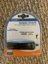 NEW Zeikos Remote Switch for Canon Digital SLR pro cameras