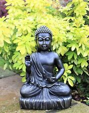 Large Sitting Buddha Bronze Effect Garden Outdoor Indoor Statue Ornament Thai