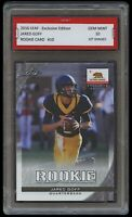 JARED GOFF 2016 LEAF EXCLUSIVE EDITION 1ST GRADED 10 NFL ROOKIE CARD RC LA RAMS