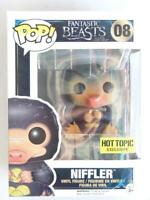 FUNKO POP VINYL | FANTASTIC BEASTS | NIFFLER 08 | HOT TOPIC with FREE Protector