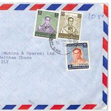 CF163 Thailand Cover 1970s Air Mail 10.50b Hants