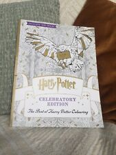 Harry Potter Colouring Book (celebration Edition) By Warner Brothers 2018