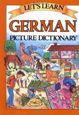 Let's Learn German Dictionary (Let's Learn Picture Dictionary Series) by Marlene