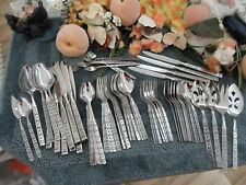 Oneida Distinction Deluxe 18/8 USA Stainless LISBON 78pc Set Service Exc Used