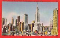 Postcard Midtown Skyline New York City