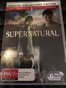 SUPERNATURAL: Season 1 Special Collector's Ed.SERIES- 6-DISC SET R4- Free Post!!