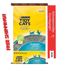 Purina Tidy Cats Non-Clumping Cat Litter For Multiple Cats 40 Lbs. Order Control