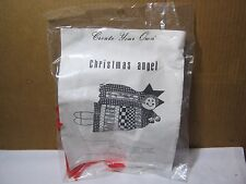 Vtg Create Your Own Christmas Angel Needlepoint  Sealed in the Original Package!