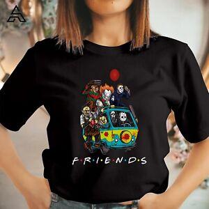 Hallowen Horror Friends Friends T Shirt Official Funny Gift for Friends 1787