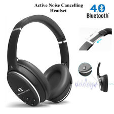 Premium Active Noise Cancelling Wireless Headphones Stereo Bluetooth Over-ear