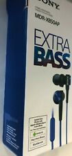 Sony MDRXB50AP In Ear Earbuds Extra Bass Headset wired- MDR-XB50AP/-Blue