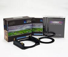 Formatt Hitech 85 Soporte Metálico ND Grad Kit De Borde Suave C/wholder, 3xND Anillo, Filtros