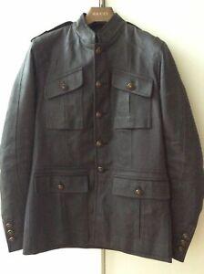 GUCCI Militär Jacke gr. 50 M L dunkelblau