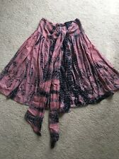 AllSaints - Wrap Around Summer Skirt Wrap Tie Dyed - Size 8/10