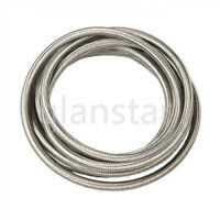AN4/AN6/AN8/AN10/AN12 stainless steel braided fuel/oil/Gas hose custom length