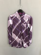 TED BAKER Shirt Dress - Size 1 UK8 - Check - Great Condition - Women's