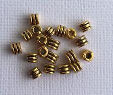 Tube Gold Jewellery Making Beads