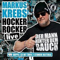 MARKUS KREBS - HOCKER ROCKER LIVE 2 CD NEU