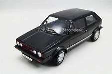 VOLKSWAGEN GOLF GTi 1800 série 1 NOIR 1/18 WELLY  AV17DC