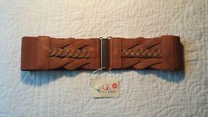 Grace Karin Women's Wide Elastic Cinch Waist Belt - Size Medium **With Tags**