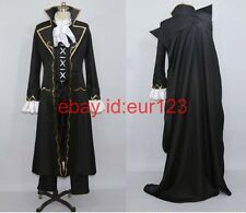anime Pandora Hearts Glen·Baskerville cosplay costume any size custom