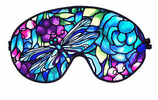Travel Eye Sleep/Sleeping Mask -DRAGONFLY SUMMER BLUE by Graggie Australia*GA