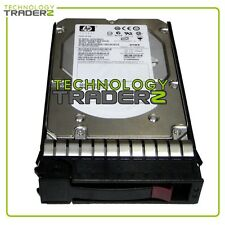 "454228-002 HP 300GB 15K SAS 3.5"" DP Hard Drive 416127-B21 DF0300B8053 W/Tray"