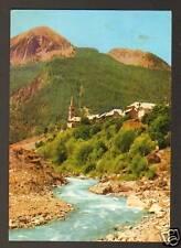 SAINT-PAUL sur UBAYE (04) VILLAS & EGLISE en 1976
