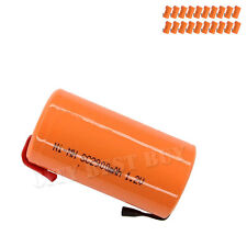 20 Sub C 1.2V 2900mAh NiMH Rechargeable Battery orange