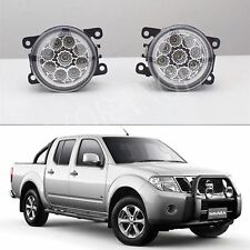 NISSAN NAVARA D40 & PATHFINDER R51 6000k HIGH POWER FULL LED FOG DRIVING LIGHTS