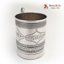Aesthetic Baby Cup 1890 R. Wallace Sterling Silver