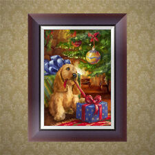 5D Diamond Embroidery Dog Painting Cross Stitch DIY Craft Home Decor
