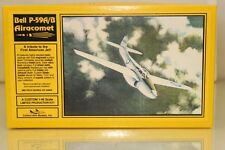 Collect-Aire 1/48 Scale  Resin Aircraft Model Kit. Bell P-59A Airacomet