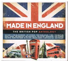 Made In England - The British Pop Anthology 3 CDs 2010