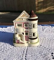 Otagiri Japan Ceramic Queen Anne Tower House Tea Lite Candle Holder