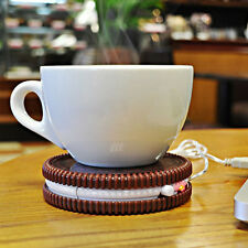 For Coffee Tea USB Cookie Warm Cup Warmer Pad Mat Electric Insulation Coaster
