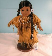 18 Inch Kaya American Girl Doll With Stand, 2002