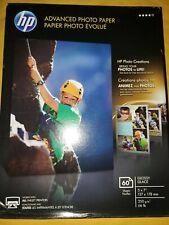 "HP Advanced Photo Paper Glossy 5"" x 7"" Q8690A Inkjet Photo Paper 60 Sheets"