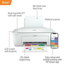 HP DeskJet 2752 Wireless All in One Color Inkjet Printer Instant Ink Ready