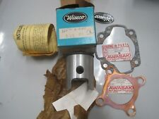 KAWASAKI NOS WISECO  PISTON & RINGS +0.50mm  142 P2 + GASKETS F6 F6A F6B