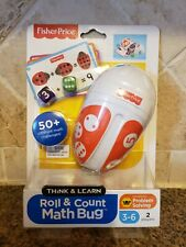 Fisher Price Roll & Count Math Bug age 3-6