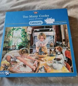 Gibsons too many cooks Jigsaw Puzzle - 500 Pieces