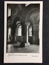 RP Vintage Postcard - London #T67 - Tower Of London, St John Chapel White Tower