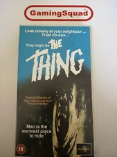 The Thing VHS Video Retro, Supplied by Gaming Squad