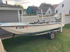 Lf - 1969 Boston Whaler 13' Fishing Boat & Trailer - Maine