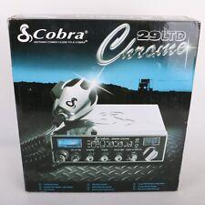 Cobra 29 LTD Black Chrome Limited Edition CB radio