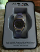 Women's Armitron light purple Pro Sport Watch New in box!