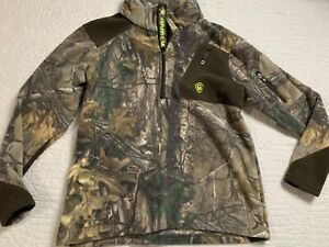 Game Winner Fleece Camouflage Hunting Pullover Sweatshirt Youth Boys Size Medium