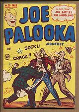 Joe Palooka #30 - The Hoodlums/Female Painting! - 1949 (Grade 7.0) WH
